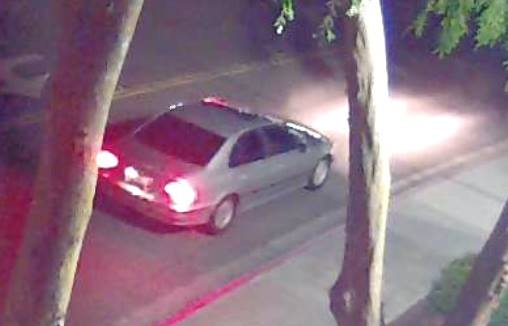Car believed to be involved in the robbery at California Grand Casino in Pacheco on Monday.