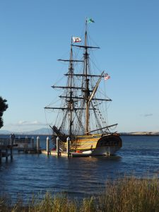 The Lady Washington docked near the former Humphrey's restaurant in Antioch, on Saturday, Oct. 17, 2015. Photo by Allen Payton