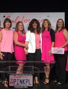 Pink Plate founders, including co-founder Chere Rush (second from right) of Discovery Bay.