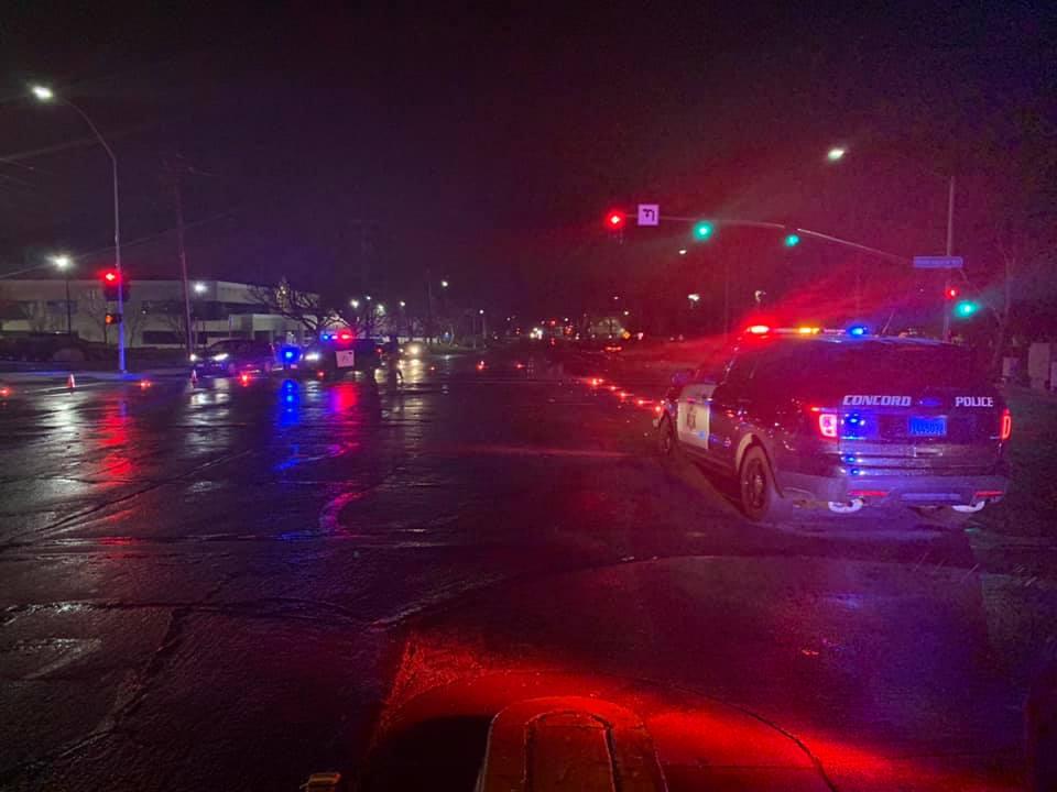 Man dies in fatal auto vs  pedestrian traffic collision in